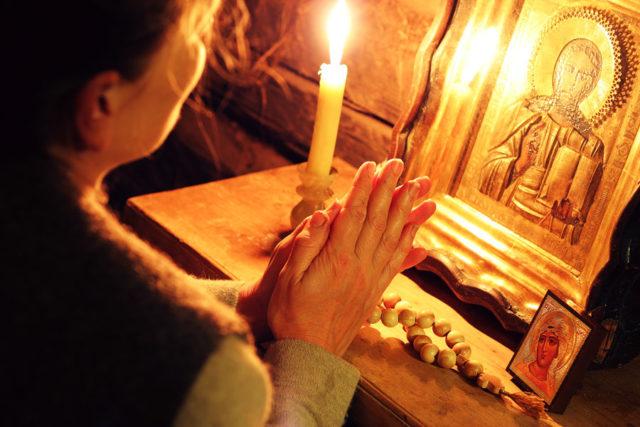 Молитва матери о здоровье сына